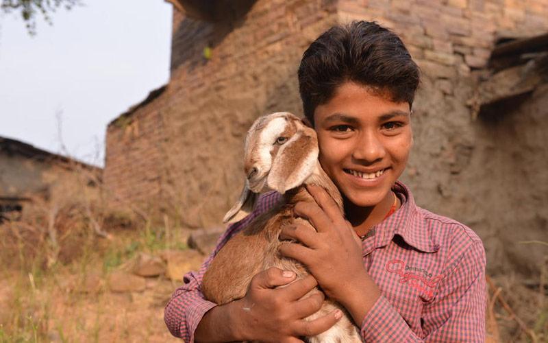 자립마을 인도 부바네스와르 썸네일. 사진