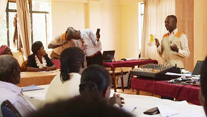 마을 리더 대상 인식개선 교육