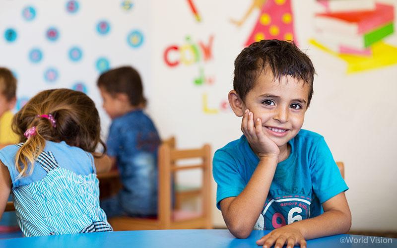 레바논 아카(Akkar) 지역 유아교육 센터, 사진출처: 월드비전