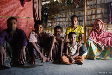 ▲ 방글라데시 콕스 바자르(Cox's Bazar) 난민 캠프에는 여전히 890,000명의 미얀마 난민들이 생활하고 있습니다. (출처: 월드비전)