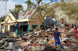 ▲ 지진과 쓰나미가 지나간 이후 9월 30일 팔루(Palu) 지역의 모습(출처: 월드비전)