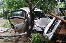▲ 주요 피해를 입은 반텐(Banten)지역의 피해 모습(출처: 월드비전)
