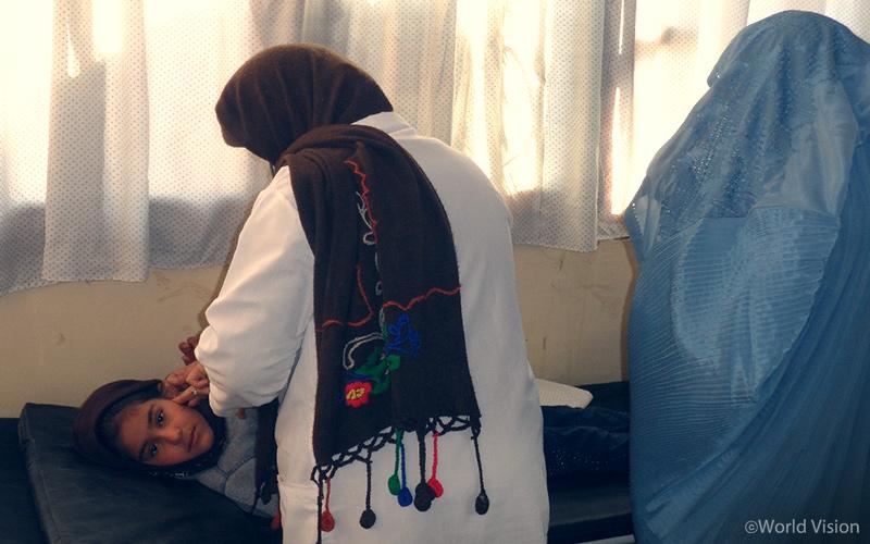 치료를 받는 아동