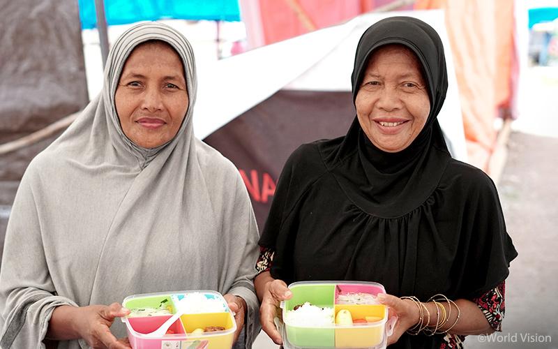 ▲ 여성 및 아동보호센터(WAYCS)에서는 여성들을 대상으로 모유 수유를 비롯한 다양한 상담과 진찰을 제공하며, 균형 잡힌 식사를 준비할 수 있도록 영양 교육을 실시하고 있습니다.