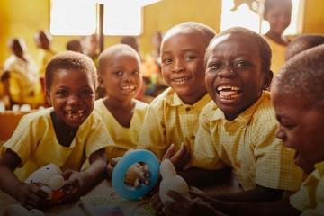 아이들의 웃는 모습