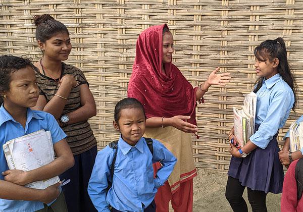 네팔 모랑 자립마을 – 후원아동 이야기
