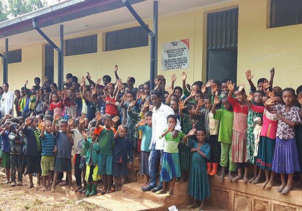 에티오피아 자비테흐난 자립마을 교육자립