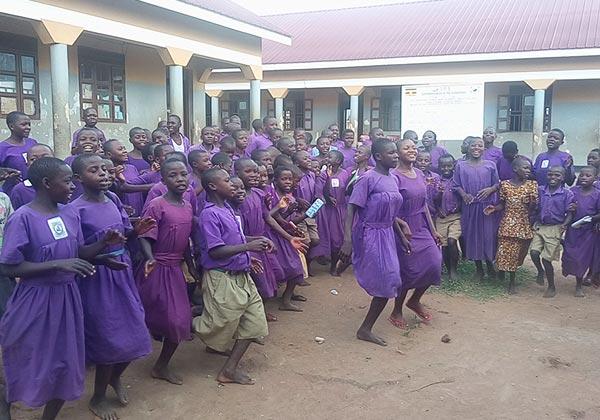 우간다 카총가 자립마을 교육자립
