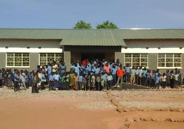 잠비아 카인두 자립마을 교육자립