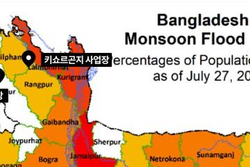 방글라데시 지도