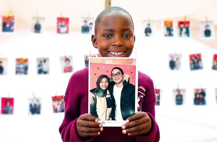 Chosen 초즌 아이의 선택 해외아동후원 캠페인