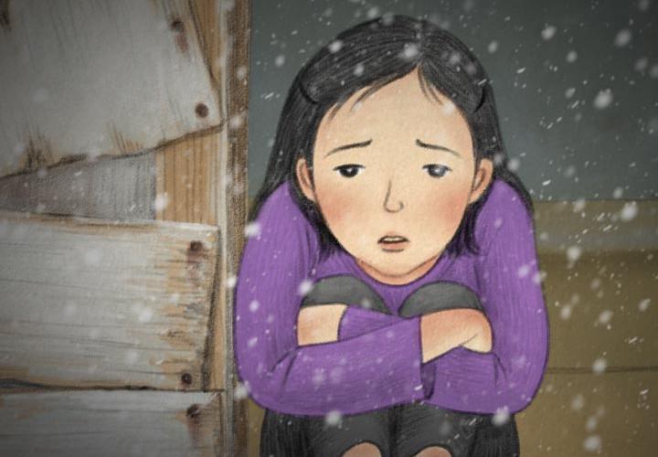 판자촌 아이들의 시린겨울
