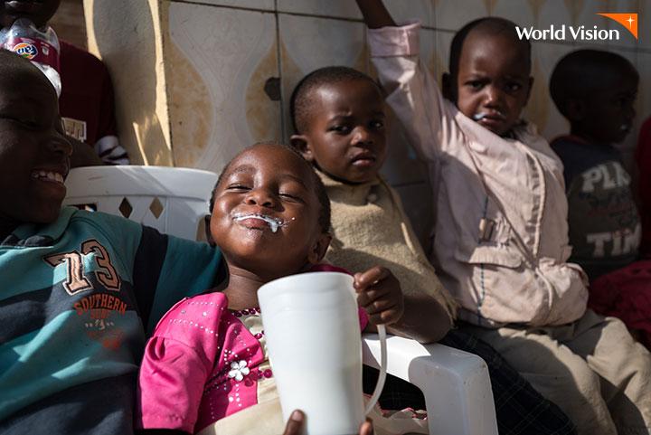 2021 우유 캠페인 결과보고: 후원자님의 사랑으로 쑥 자란 아이들
